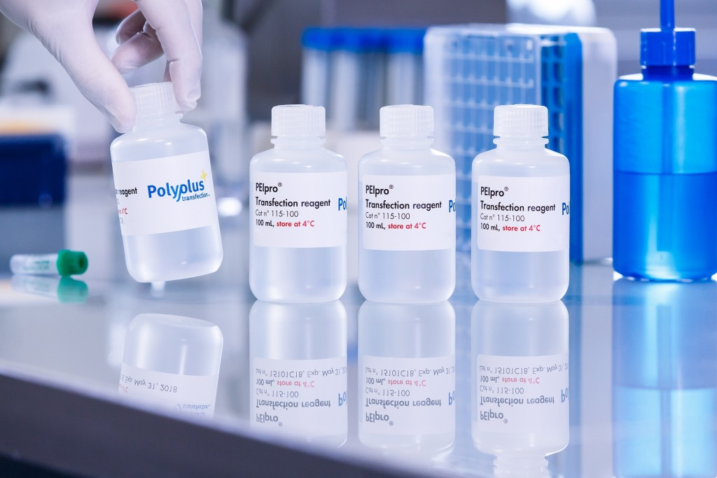 PEIpro packaging - Polyplus-transfection