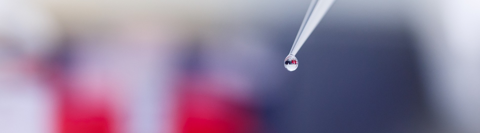 Polyplus-transfection - Drop of transfection reagent