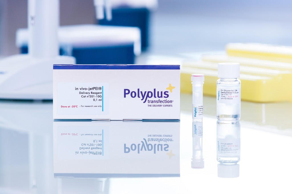 in vivo-jetPEI packaging - Polyplus-transfection