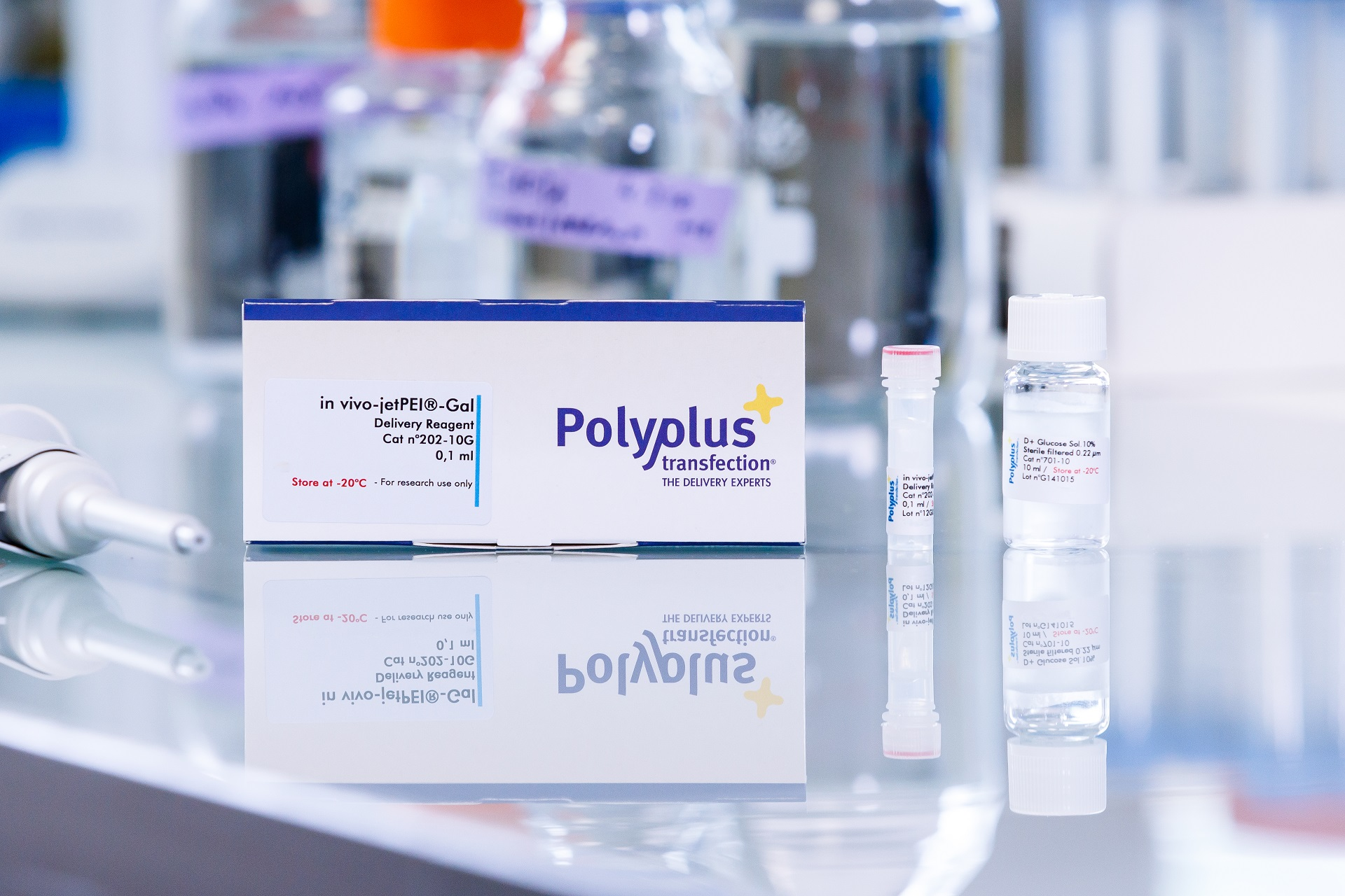 in vivo-jetPEI-Gal packaging - Polyplus-transfection