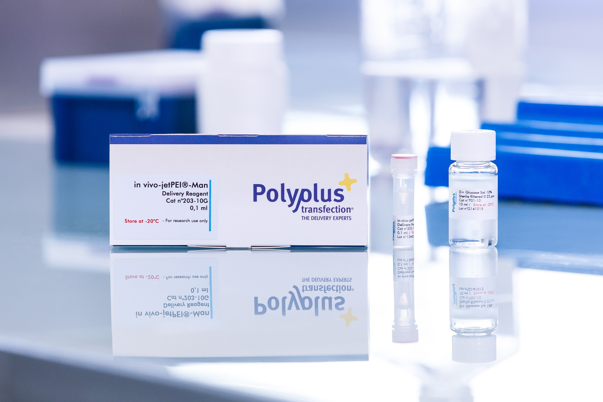 in vivo-jetPEI-Man packaging - Polyplus-transfection