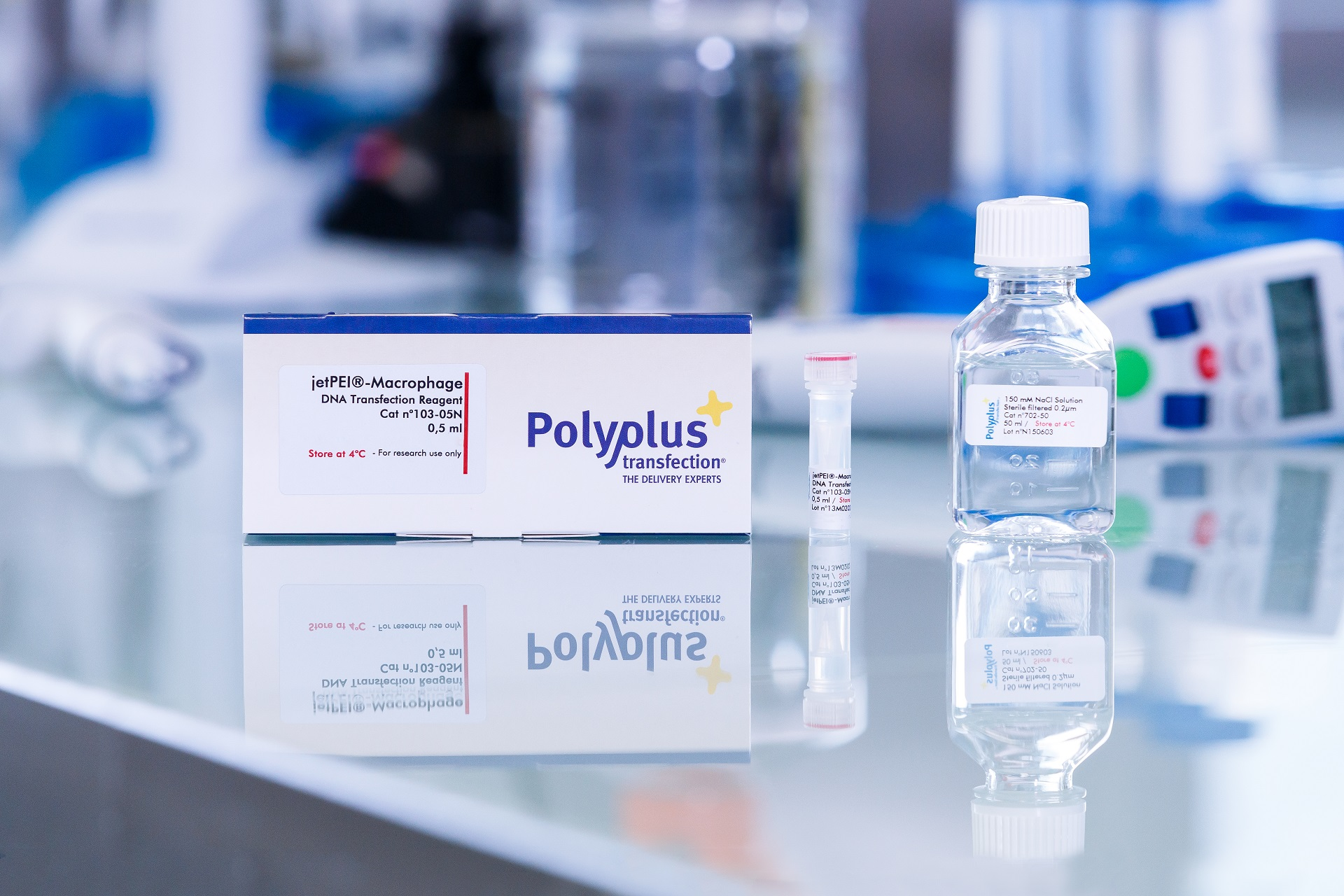 jetPEI-Macrophage packaging - Polyplus-transfection