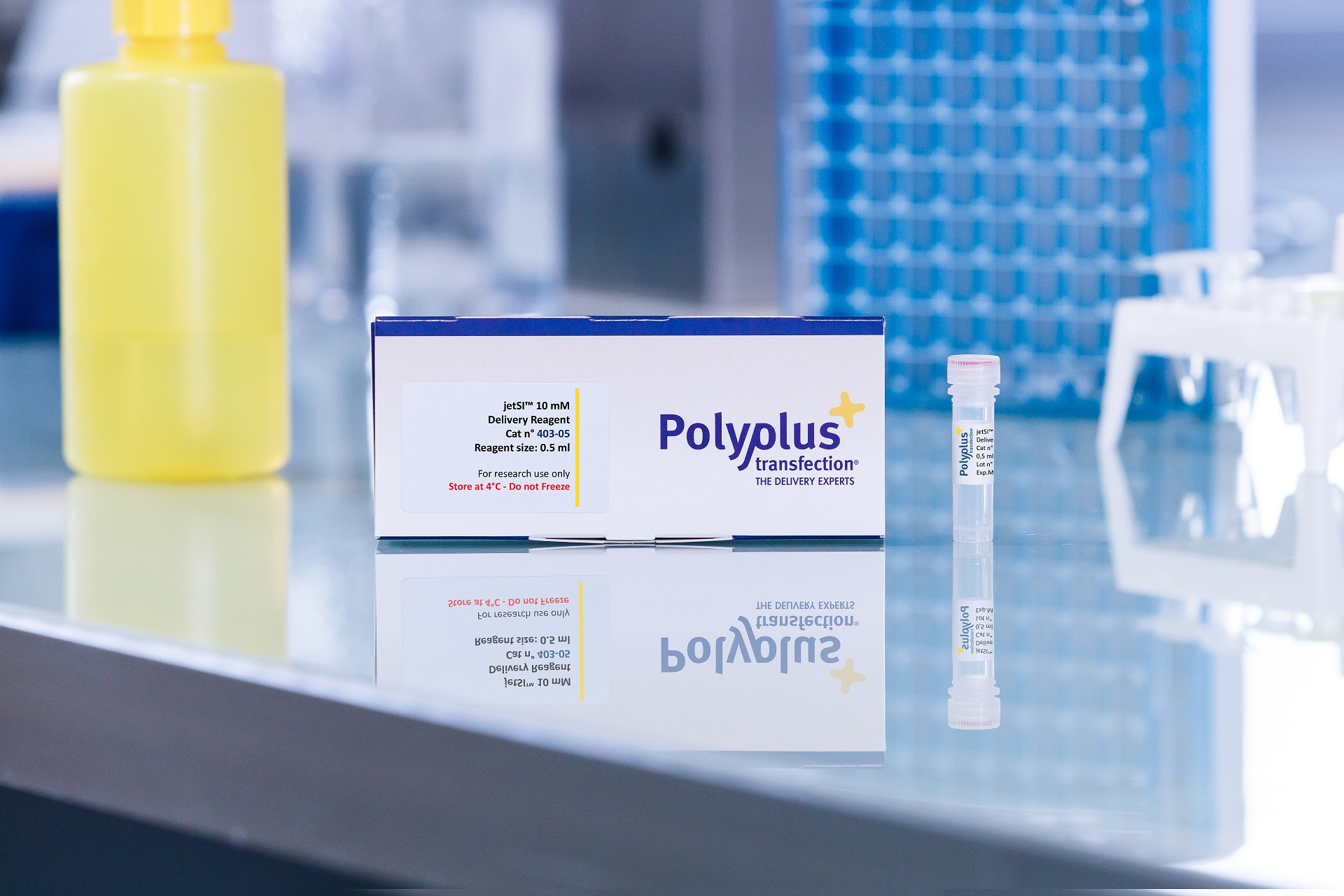 jetSI 10 mM packaging - Polyplus-transfection