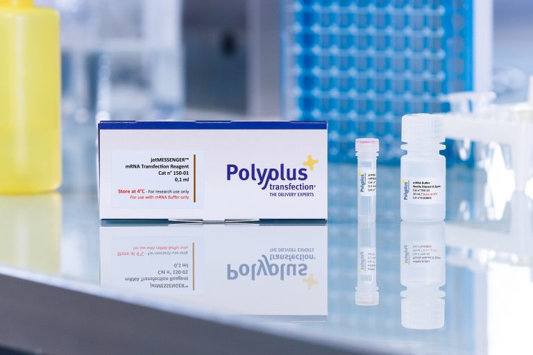 jetMESSENGER packaging - Polyplus-transfection