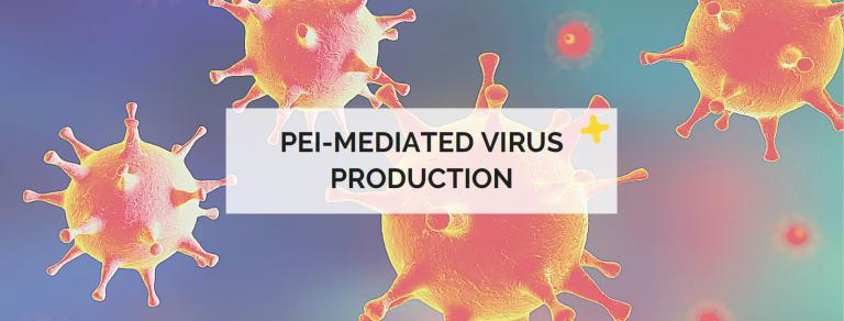 pei-mediated virus production