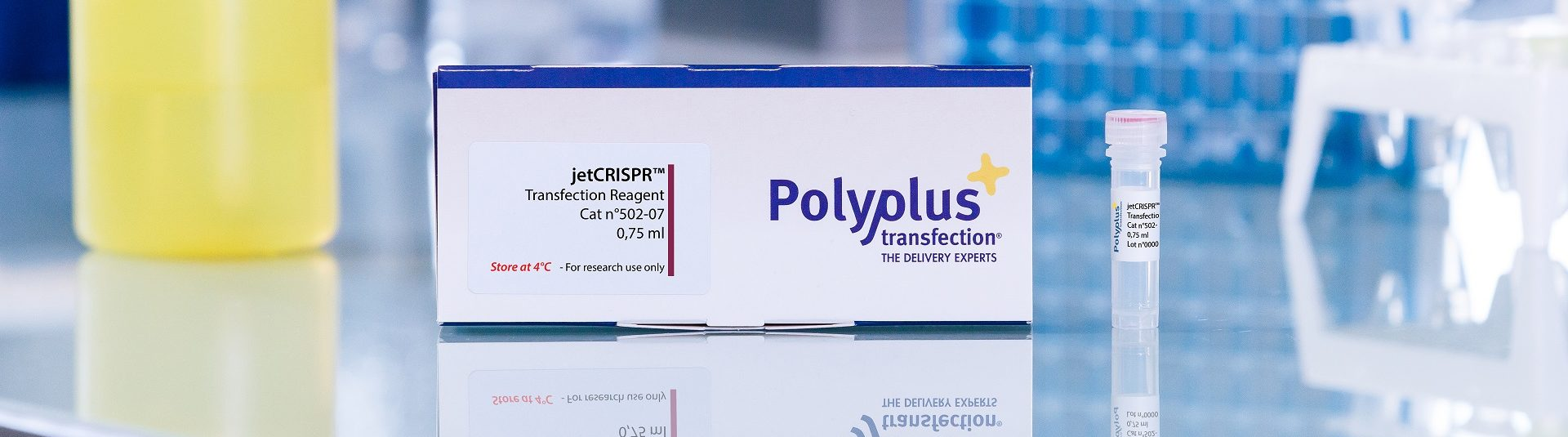 jetCRISPR packaging - Polyplus-transfection