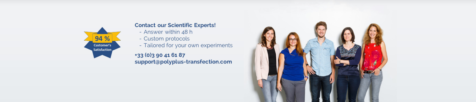 Polyplus-transfection Technical Support