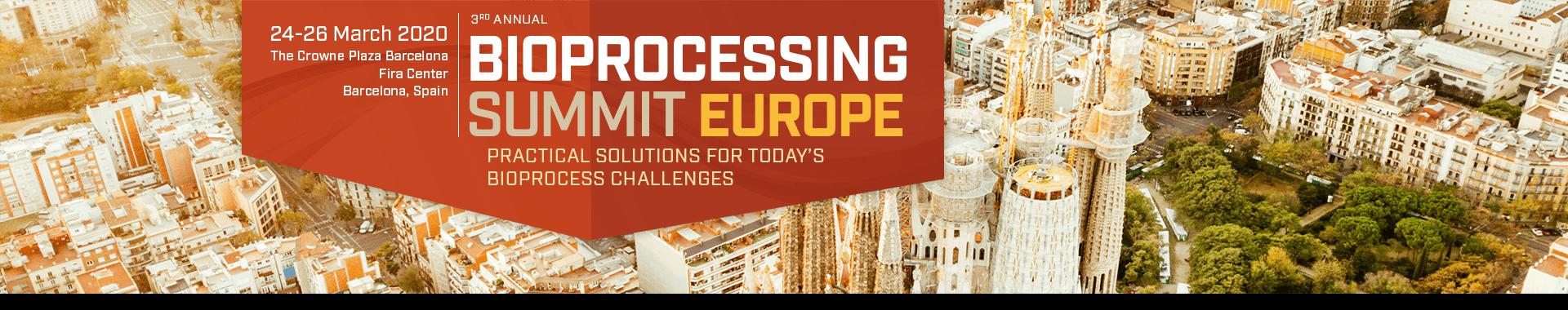 banner bioprocessing europe 2020