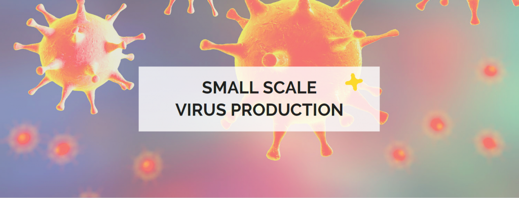 small scale virus production