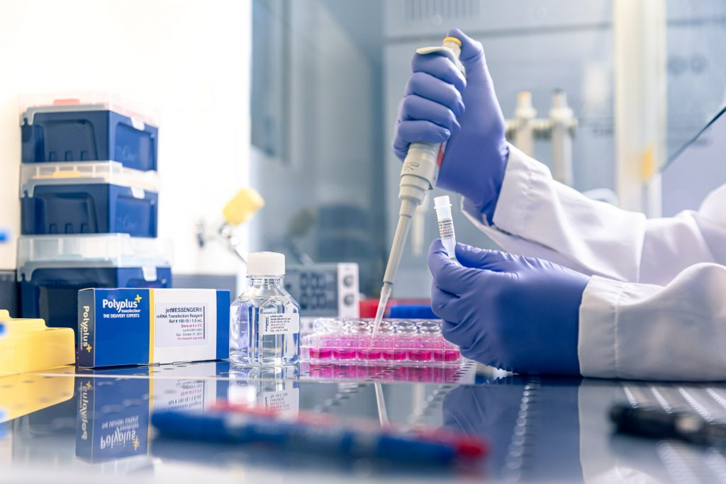 Polyplus-transfection-lab-experiment
