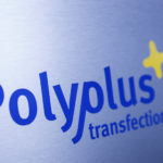Polyplus logo on blank sheet